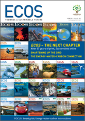 Ecos Issue 161 - Table of Contents